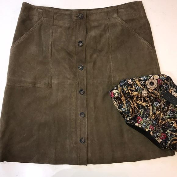 Banana Republic Dresses & Skirts - Banana Republic Suede skirt